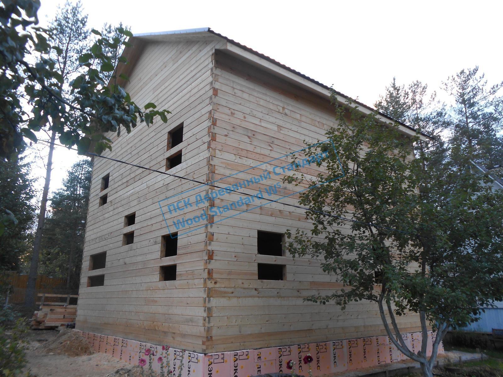 Дом из бруса 9х9