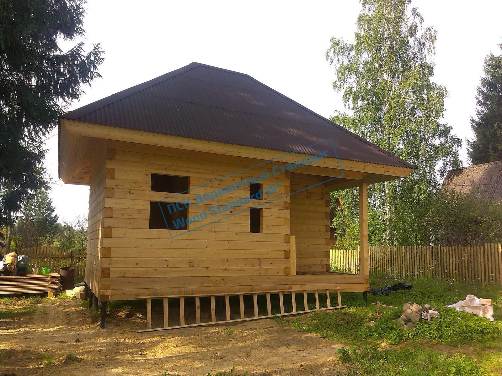 Фото проекта одноэтажного домика