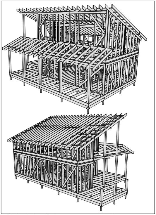 Проектирование каркасных домов